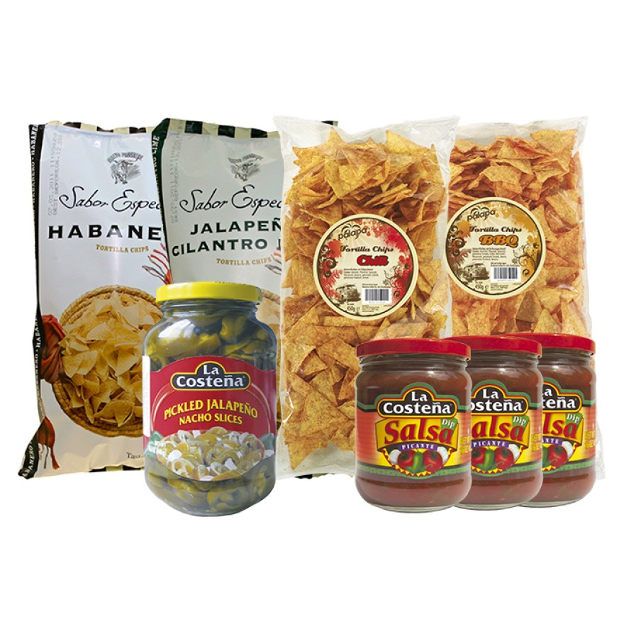 Tortilla Chips Snack Paket