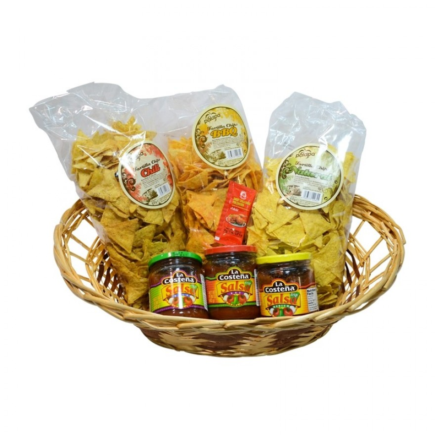 Tortilla Chips + Dips Set klein