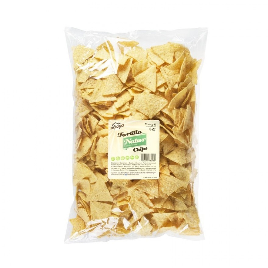 Tortilla Chips Natur - 800 gr